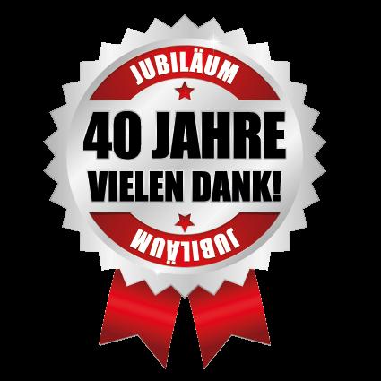 40 Jahre Juniläum von KOTRAX Installationsgesellschaft m.b.H Ihrem zuverlässigen Partner im Bereich Gas, Wasser, Heizung, Sanitär und Haustechnik aller Art. iihr Installateur aus Neuhofen bei Ried.